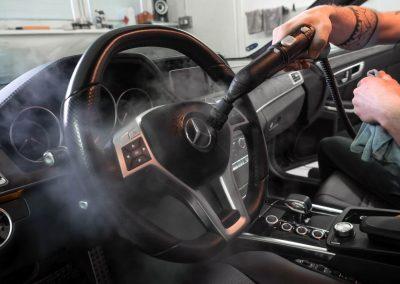 čištění interiéru MB E212 AMG