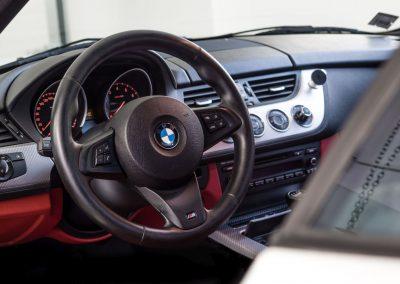 Interiér BMW Z4 Cabrio
