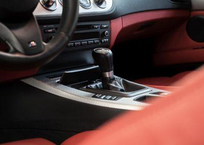 Péče o interiér BMW Z4 Cabrio