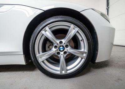 Ošetření bočnic pneumatik BMW Z4 Cabrio