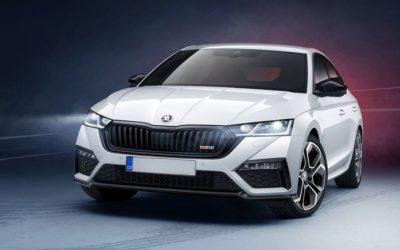 Škoda Octavia RS iV je mladší…..
