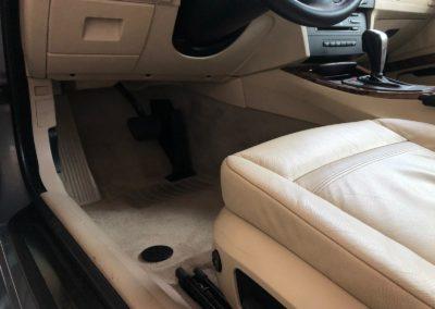 kompletní servis interiéru vozu BMW