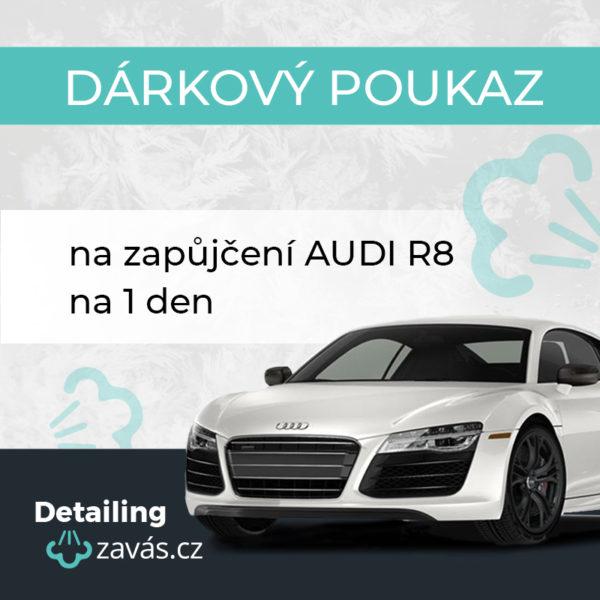 Dárkový poukaz AUDI R8 na 1 den