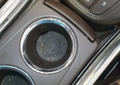 Čištění interiéru auta Opel Zafira