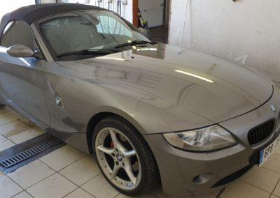 Voskování auta BMW Z4