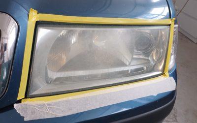 Renovace zoxidovaných světel
