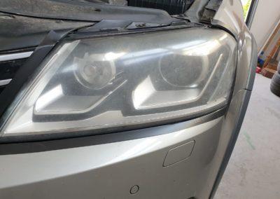 Leštění světel VW Passat