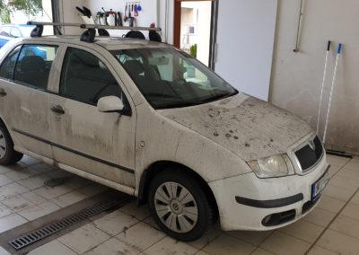Ruční mytí vozu ŠKODA FABIA